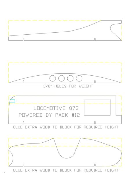 Pinewood Derby Design Template by Pinewood Derby Templates Printable Pinewood Derby Car