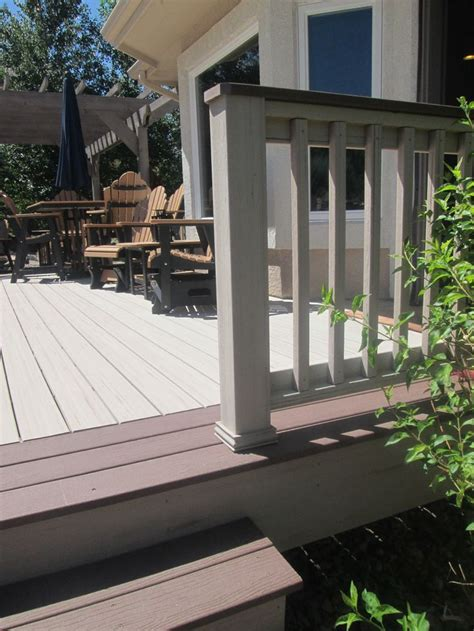 tone deck outdoor decor pinterest deck railings
