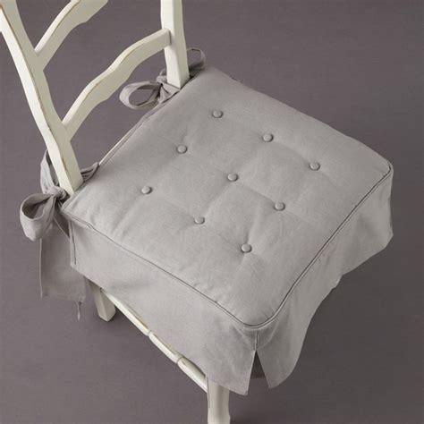 galette de chaise 50x50 galette de chaise volantee