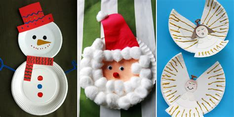 15 Incredibly Cute Paper Plate Christmas Crafts Off White Shaker Kitchen Cabinets Painted Cabinet Doors Design Online Large Pantry Making Raised Panel Refacing Thermofoil Hardware Discount Corner Linen