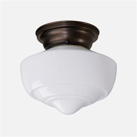 otis 4 quot surface mount light fixture schoolhouse electric