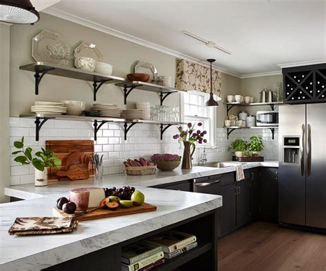 kitchen wall shelf trend alert 5 kitchen trends to consider
