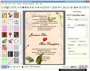 Wedding card maker software screenshots how to generate for Wedding invitation maker software online