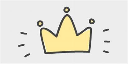 Crown Drawn Cartoon Hand Transparent Clipart Jing