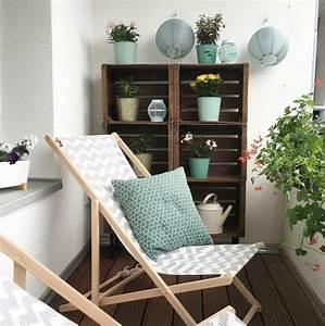 Kleiner Balkon Einrichten : kleiner balkon einrichten ~ Orissabook.com Haus und Dekorationen