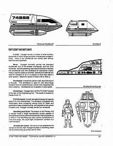 Star Trek Blueprints  Star Trek  Voyager Technical Manual