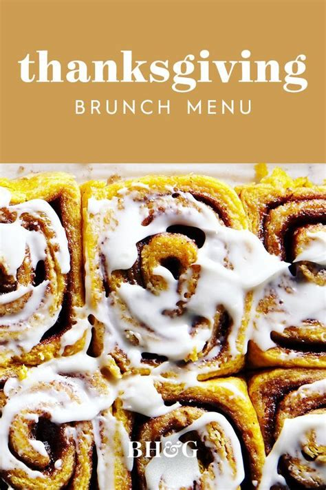 No need to get creative this holiday season. 26 Thanksgiving Menu Ideas from Classic to Soul Food & More in 2020   Thanksgiving brunch menu ...