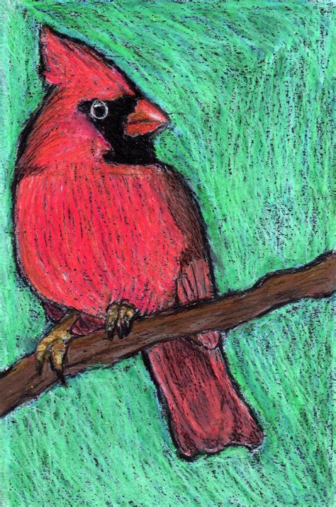 rolling artroom oil pastel birds   grade