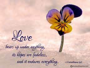 Bible Scripture Quotes About Love
