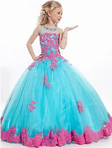 Custom Flower Girl Dresses Princess Kids Pageant Party ...
