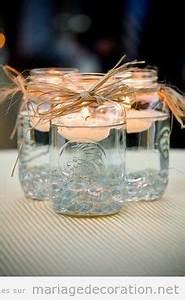 Pot En Verre Pas Cher : pots en verre et bougies flottantes d co centre table mariage pas cher d coration ~ Melissatoandfro.com Idées de Décoration