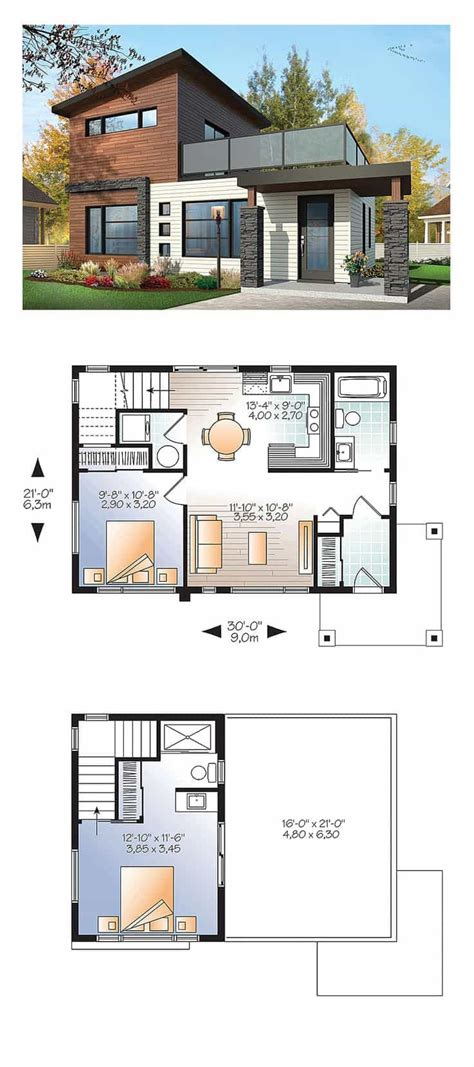 modern house plans samples modern home