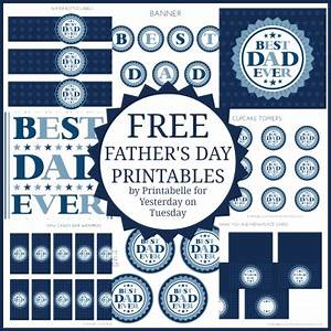 free father's day printables Archives | Yesterday On Tuesday