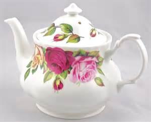 bone china teapot 6 cup garden chintz roy kirkham teapots