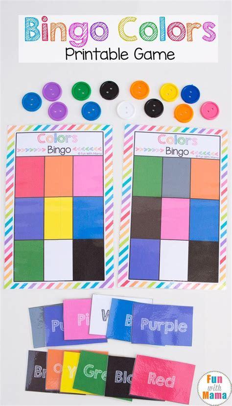 best 25 preschool color theme ideas on 601 | 698e8c6b1e0a29654087badc022b53ac kindergarten bingo free printable preschool colors theme