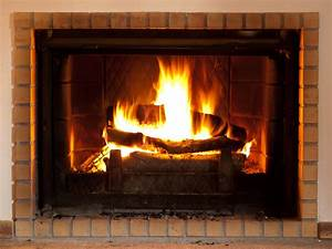 Log, Fire