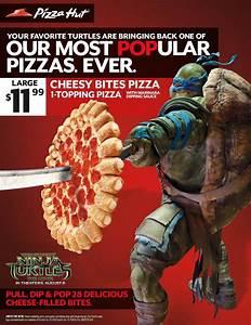Pizza Hut Teams with Teenage Mutant Ninja Turtles