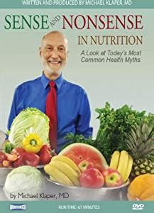 Amazoncom Sense And Nonsense In Nutrition A Look At