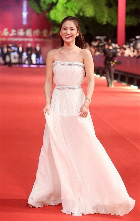 actress in long song south korean actress song hye kyo poses on the red carpet