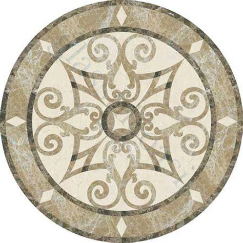 entryway tile medallions foyer flooring jet stone corporation medallion series medallion crema marfil emperador dark