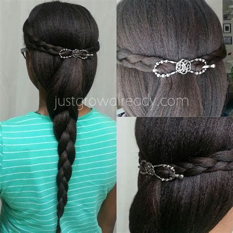 protective styles for relaxed hair today s protective style just grow already 9857
