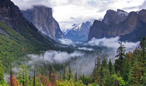 Discover The Yosemite National Park Usa Activity