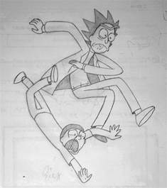 Rick and Morty Drawing