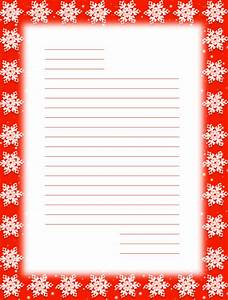 search results for santa christmas stationary lined free With christmas letter paper with lines
