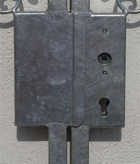 schloss für gartentor gartentor hoftor tor metall eisen monaco gt300 30s schloss feuer verzinkt 15 jahre garantie tore