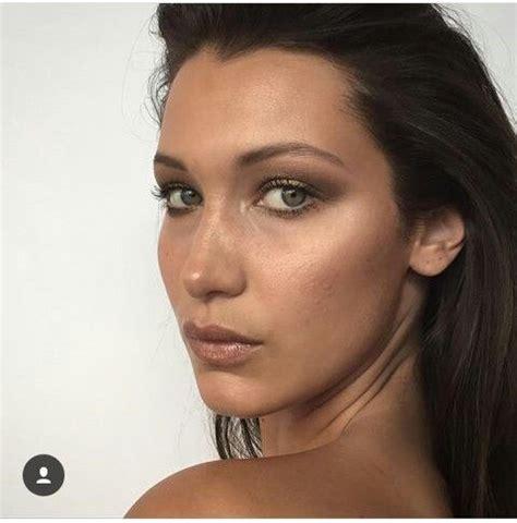 Bella | Bella hadid makeup, Celebrity makeup looks, Bella ...