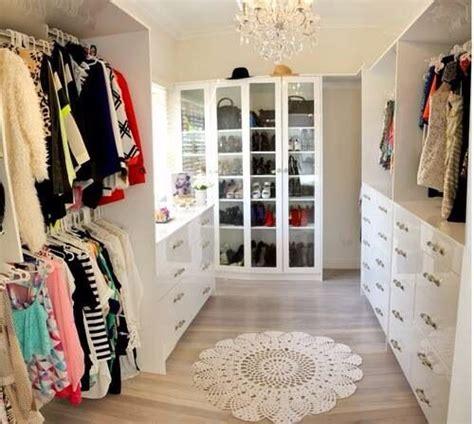 beautiful walk in closet opberg ideen