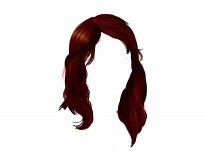 Hair Transparent Clipart Brown Wig Background Deviantart