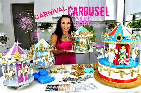 carousel cakes tutorials cake geek magazine