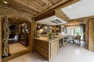 charming decoration interieur chalet bois 3 With decoration interieur chalet bois