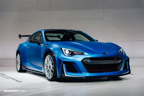 subaru brz racing the subaru brz sti performance concept is a little monster