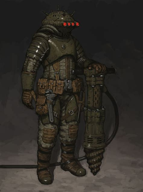 Space Miner by ariel perez | Sci-Fi | 2D | CGSociety ...