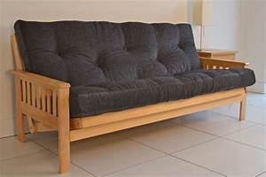 Pine futon bm furnititure for Pine futon sofa bed