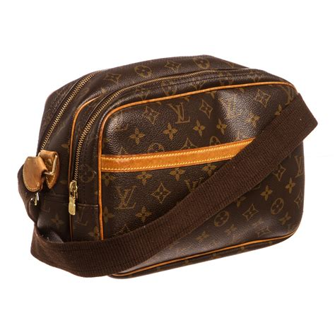louis vuitton monogram reporter pm messenger bag sp vintage louis vuitton touch