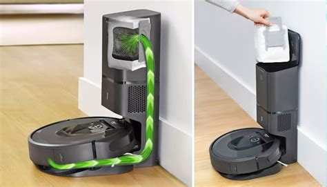The Irobot Roomba I7+ Empties Itself Technabob