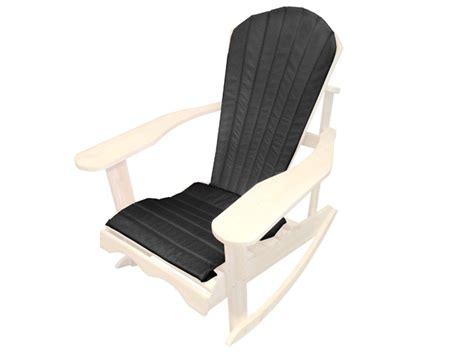 coussin de chaise patio coussin de chaise adirondack noir ogni