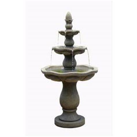 shop garden treasures 57 5 in resin tiered at