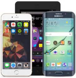 iPhone and Samsung Cell Phones