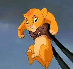 baby simba the lion king | The Silver Petticoat Review