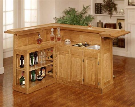 Cheap Bar Designs by Simply Mini Bar Design In Wood Materials With
