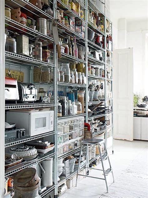 Best Metal Kitchen Shelves Ideas On Pinterest  Kitchen