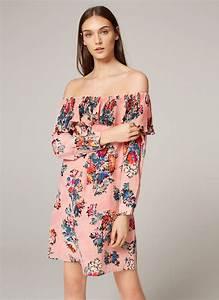Uterque vestido seda floral