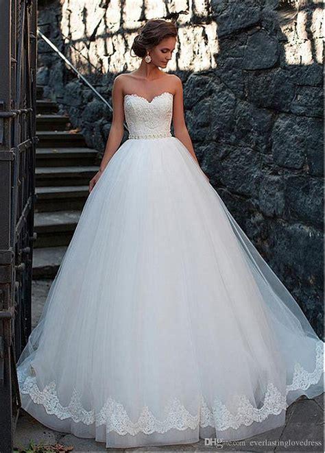Amazing Tulle Sweetheart Neckline Ball Gown Wedding