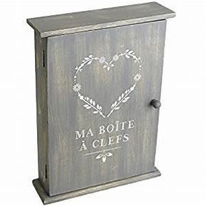 Boite A Cles Bois : boite armoire cl s murale rangement des clefs en bois cuisine maison ~ Melissatoandfro.com Idées de Décoration