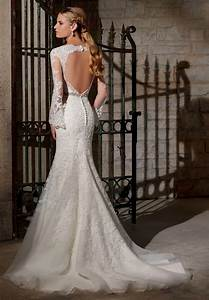 Long Sleeve Open Back Wedding Dress 10 Ways Of Shaping