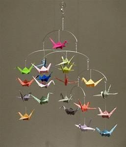 Mobile Basteln Origami : origami mobile basteln my blog ~ Orissabook.com Haus und Dekorationen